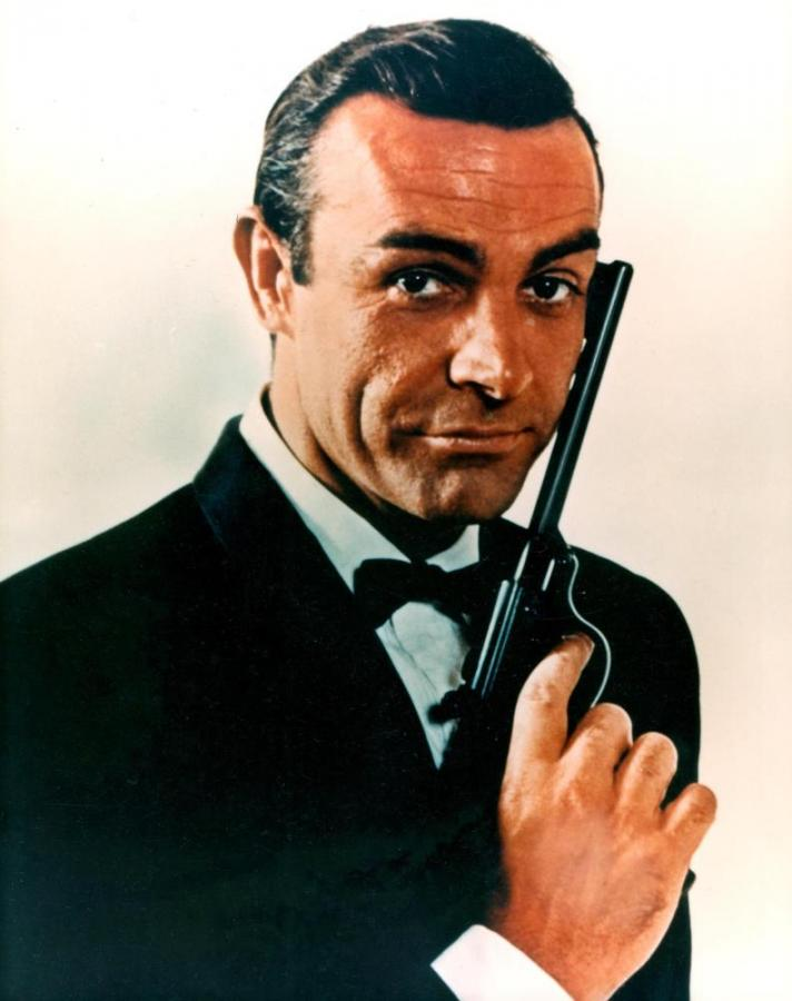 Sean Connery jako James Bond fot. flickr/ateam