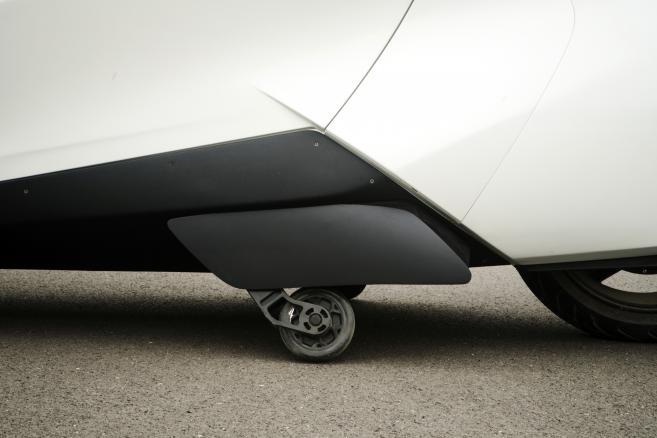 Prototyp pojazdu żyroskopowego Beijing Lingyun Intelligent Technology