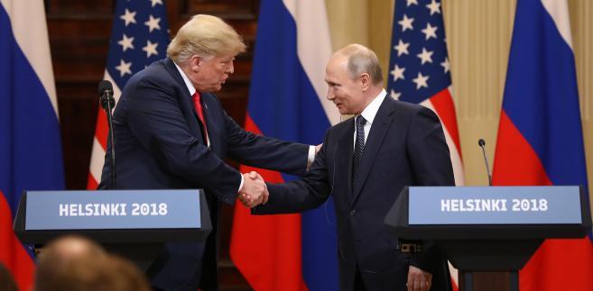 Spotkanie Donalda Trumpa i Władimira Putina w Helsinkach. 16.07.2018 Finlandia