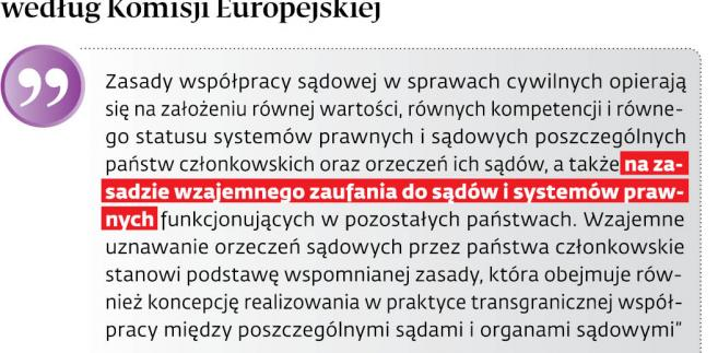 Współpraca sądowa według Komisji Europejskiej