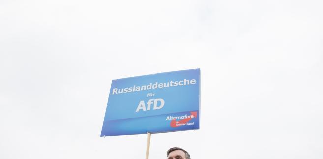Eugen Schmidt, rosyjski aktywista wspierający partię Alternatywa dla Niemiec (AfD)