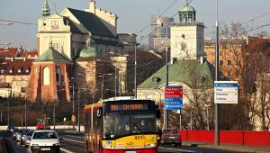 Autobus Solaris Urbino 18 na ulicach Warszawy. Fot. materiały prasowe Solaris Bus & Coach