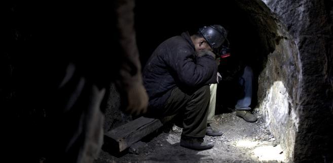 Kopalnia węgla w prowincji Shanxi, Chiny. Fot. 12, mat. Bloomberg