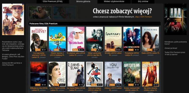 CDA.pl - zrzut ekranu