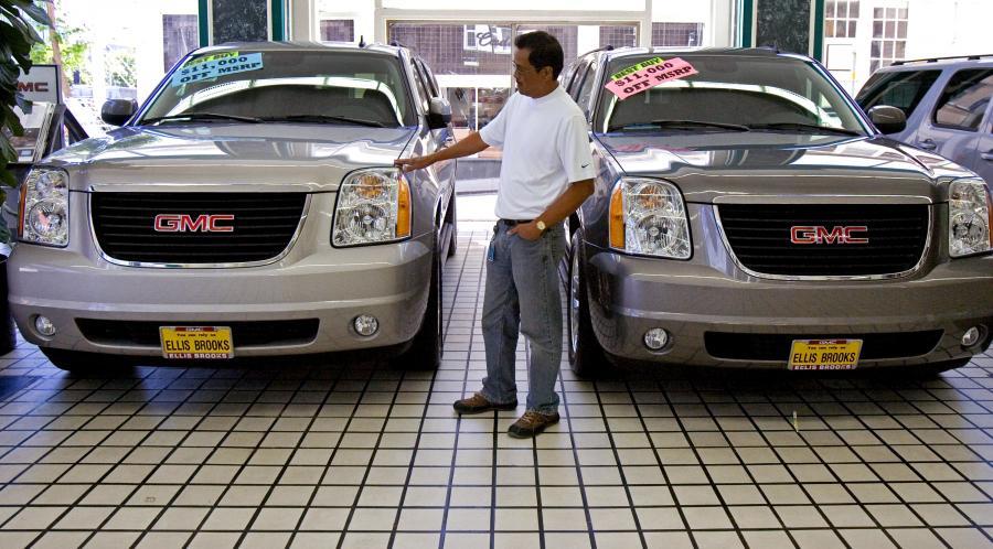 Salon dilera General Motors