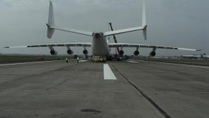 Największy samolot świata Antonow An-225. Fot. Sandsteinrad (CC BY-ND 2.0)