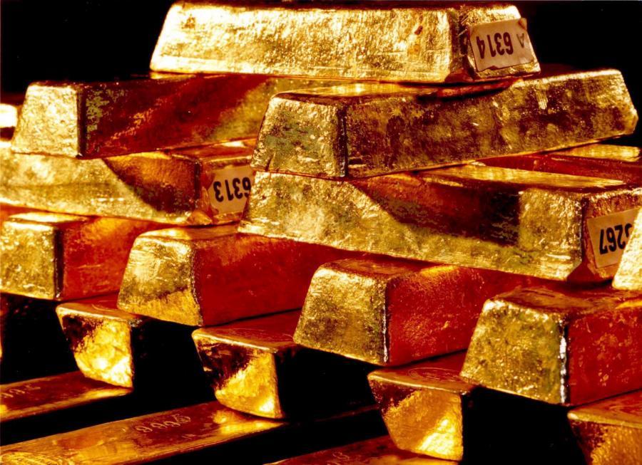 Złoto na giełdach drożeje już drugi dzień z rzędu.   Fot. Bloomberg