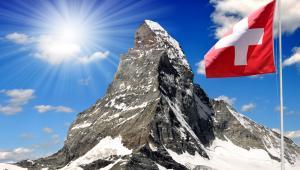 Matterhorn w szwajcarskich Alpach, fot. Vaclav Volrab