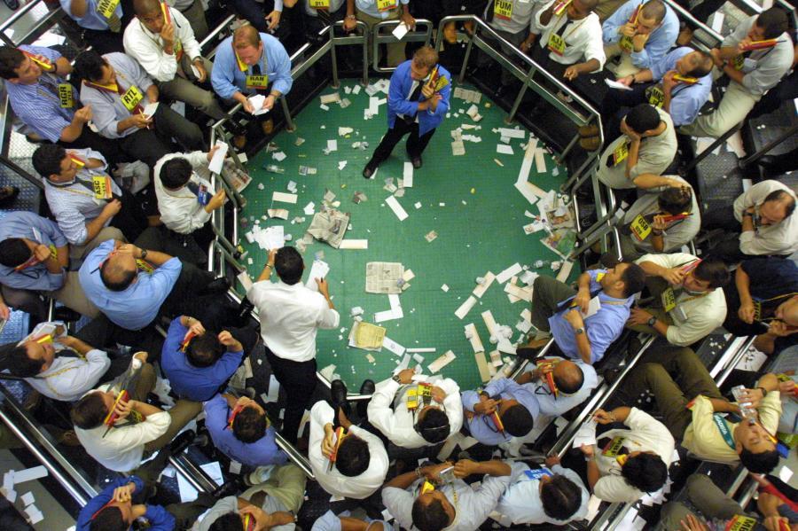 Maklerzy handlują obligacjami