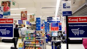 samoobsługowy supermarket sieci Tesco, fot. Materiały prasowe