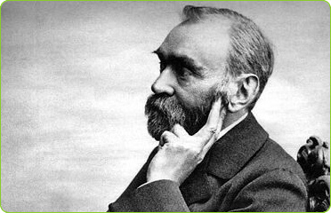 Alfred Nobel, fot. BlatantWorld.com, licencja Creative Commons Attribution 2.0 Generic (CC BY 2.0)