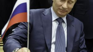 Władimir Putin na szczycie UE - Rosja, luty 2011, fot. Jock Fistick/Bloomberg