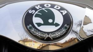 Logo skody, fot. Vladimir Weiss/Bloomberg