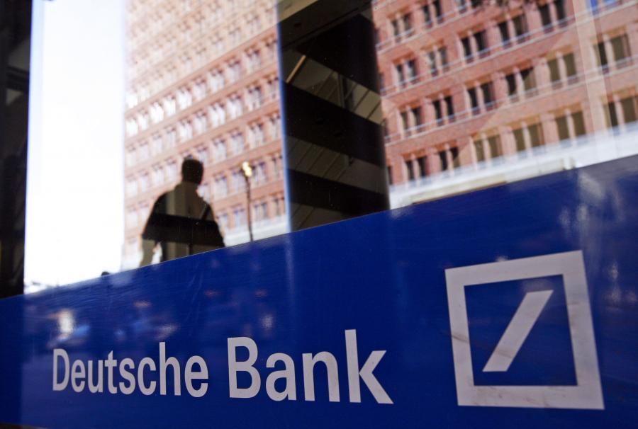 Deutsche Bank. Fot. Bloomberg