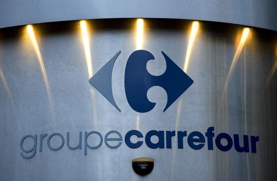 Logo grupy Carrefour