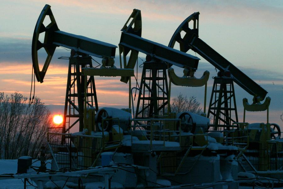 Złoża ropy naftowej w Chanty-Mantyjskim rejonie, należące w przeszłości do Jukosu. Fot. Bloomberg