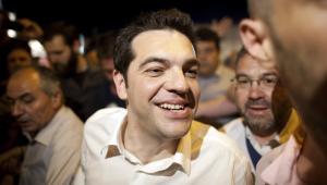 Aleksis Cipras, lider greckiej koalicji partii Syriza