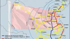 Najdłuższa w Chinach linia kolei szybkich prędkości oddana zostanie do użytku w 2012 roku
