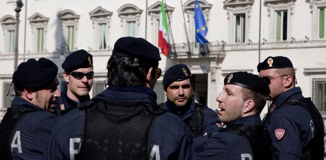 Włoscy policjanci
